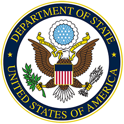 U.S. Department of State official seal